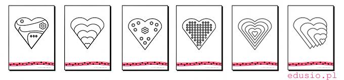 kolorowanki dla przedszkolaków do wydruku-walentynki