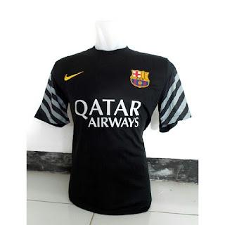 gambar photo kamera Jersey Keeper Barcelona warna hitam terbaru musim 2015/2016 enkosa sport
