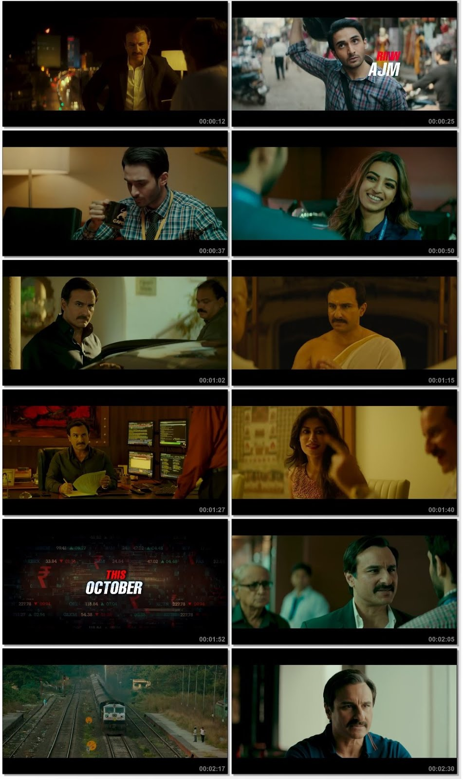 Screenshots Of Hindi Movie Baazaar 2017 Trailer official 480P HD