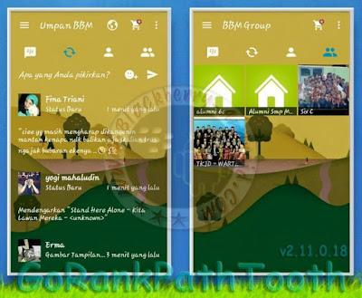 BBM Go Rank Path Toot Transparent Mod New v2.11.0.18 Apk