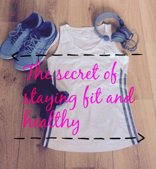 the secret of staying fit and healthy #fitspiration #fitnessroutine http://isafashionebella.blogspot.com