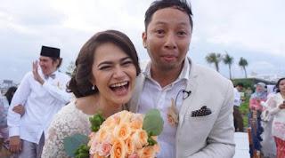suka cita Ringgo Agus Rahman saat menikahi Sabai Morscheck