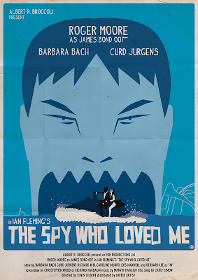 Jaws The Spy Who Loved me James Bond Poster okokno