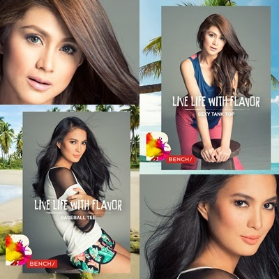 Isabelle Daza and Carla Abellana for Bench Summer 2014
