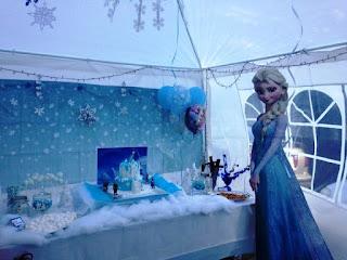 Dekorasi Ulang Tahun Anak Mewah Tema Frozen