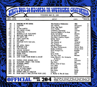 KHJ Boss 30 No. 204 - May 28, 1969