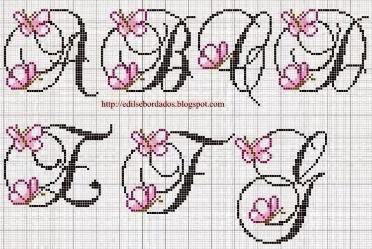 Hobby lavori femminili ricamo uncinetto maglia for Farfalle punto croce schemi gratis