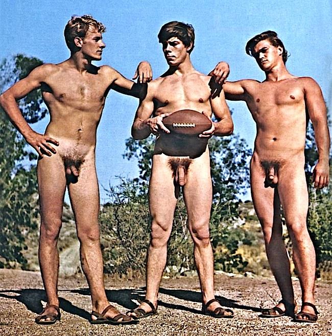 Vintage nudist sport videos