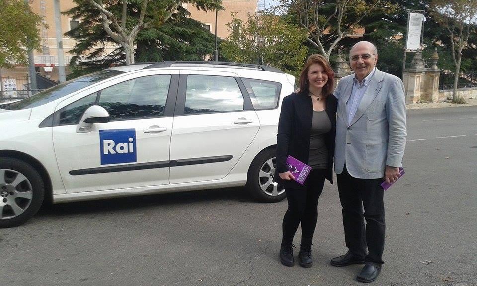 Con il giornalista Enzo Quarto