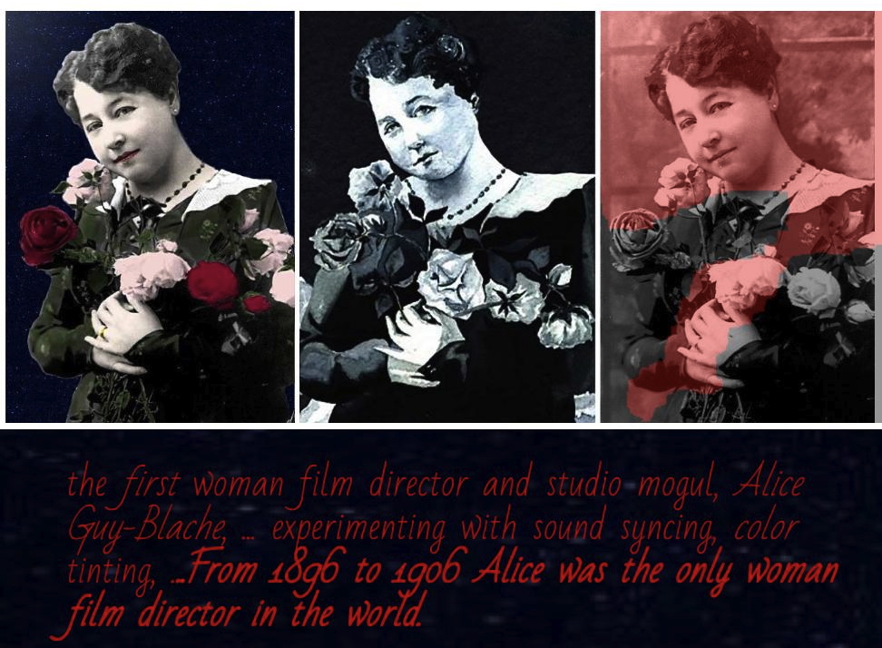 Why ,the creator of narrative cinema, Alice Guy been written out of film history?