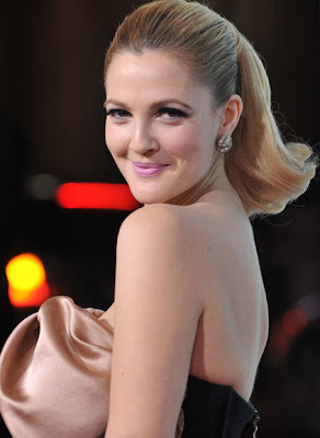 Drew Barrymore Gemstone Studs