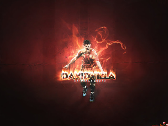 David Villa background