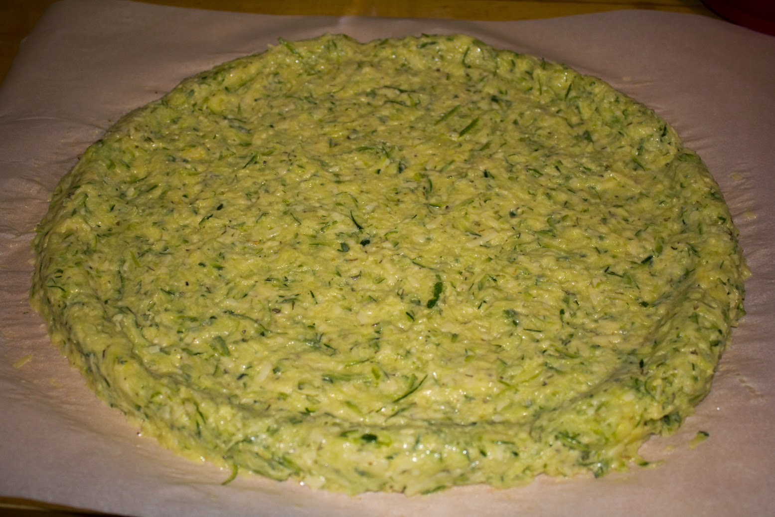 Zucchini Pizza Dough Recipe