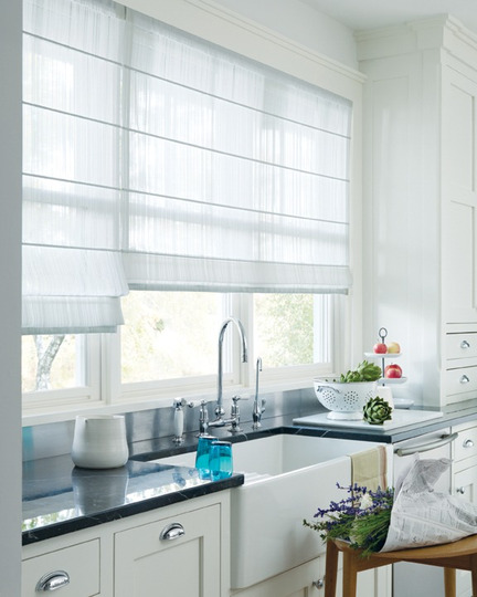blinds 4 less roman shades for the kitchen