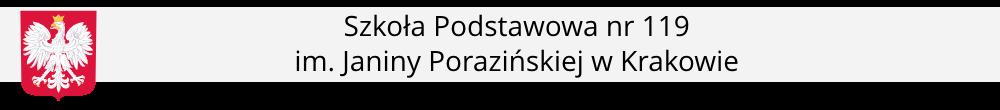 Szkoła Podstawowa nr 119 im. Janiny Porazińskiej w Krakowie
