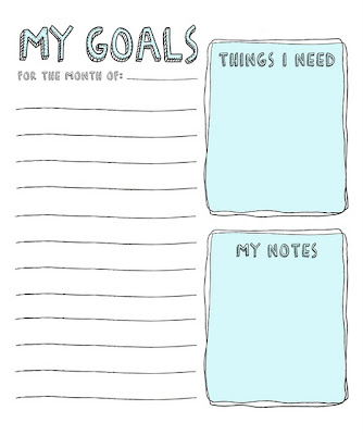 goallist New Years Day 2012 | Creative Goals and Planning Loves!