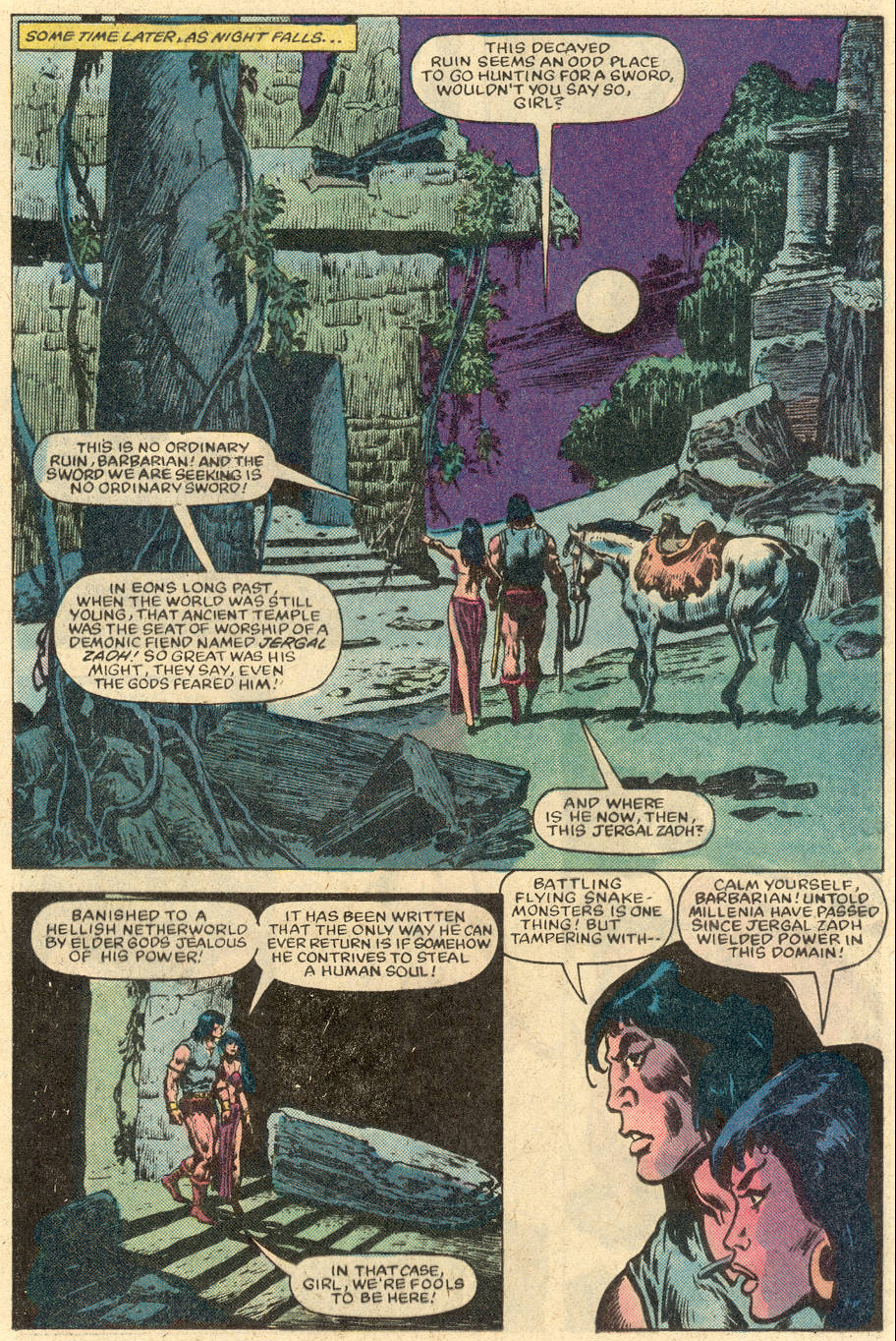 Conan the Barbarian (1970) Issue #152 #164 - English 7
