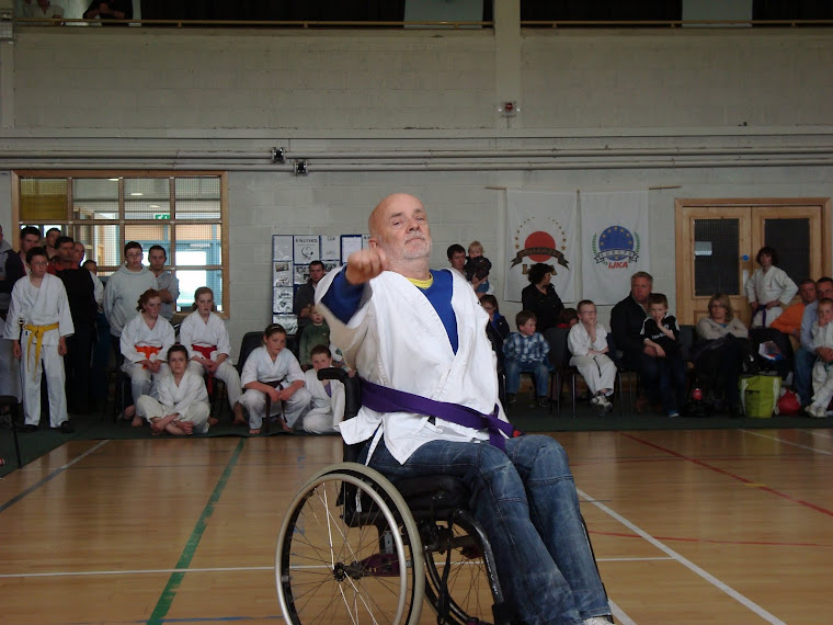 Irish Wheelchair karate Demonstration
