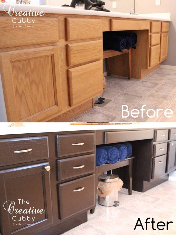 Staining oak cabinets 2015 personal blog - Staining kitchen cabinets with gel stain ...