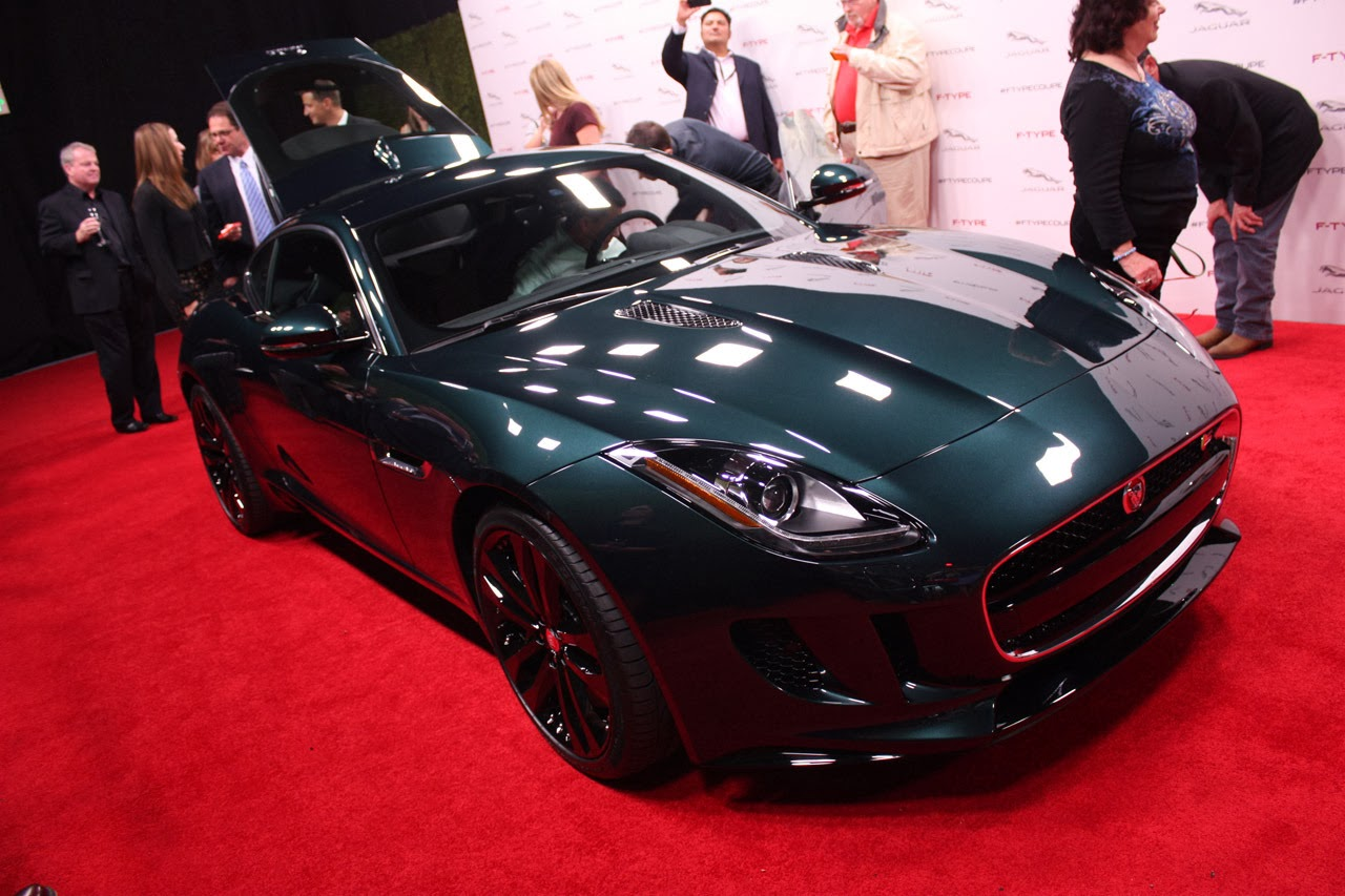 Jaguar f type coupe green - photo#23