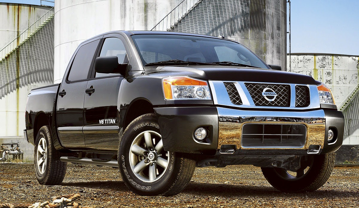 2015 nissan titan pickup truck 5 6 liter v8 317 hp car. Black Bedroom Furniture Sets. Home Design Ideas