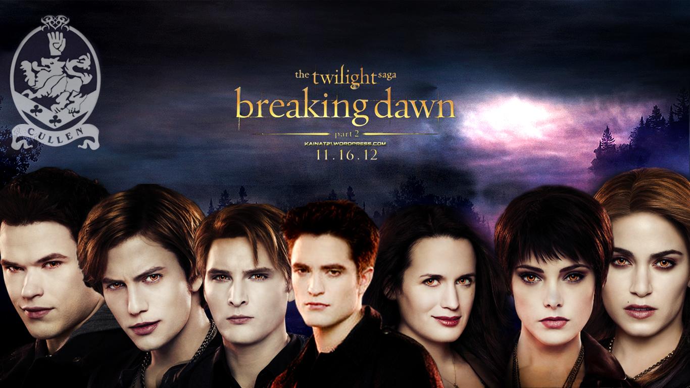 Image cullen family breaking dawn wallpaper twilight series - Pinkermellthe Cullen Family Breaking Dawn Wallpaper