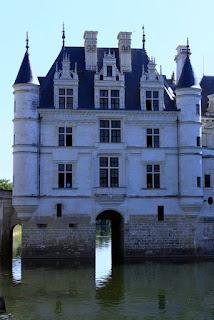 Château de Chenonceau façade ouest