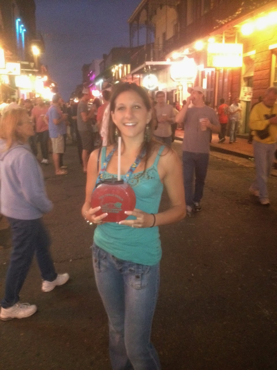Lmp travel blogs louisiana partying in new orleans for Bourbon street fish