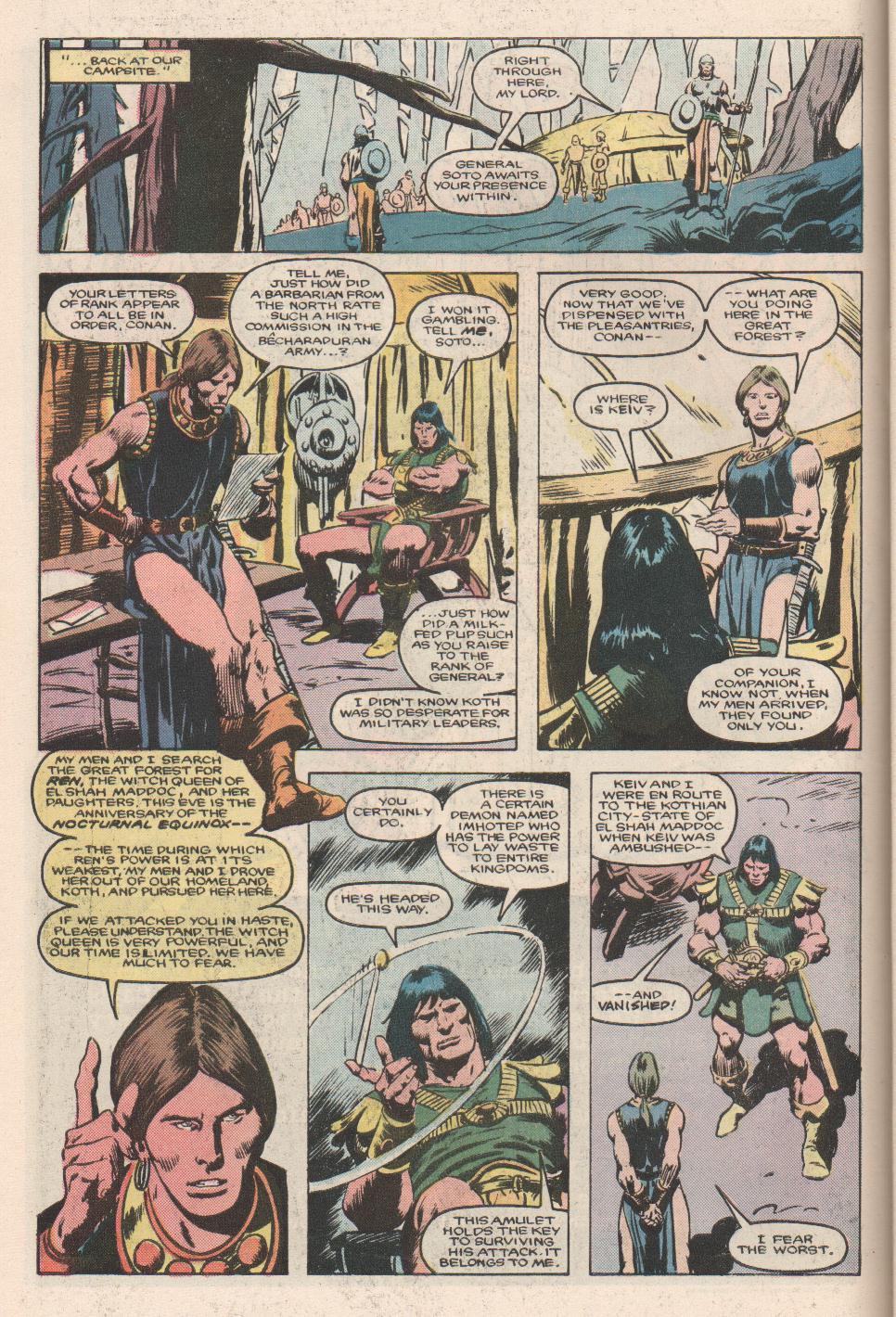 Conan the Barbarian (1970) Issue #180 #192 - English 7