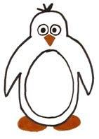рисуем пингвина для детей