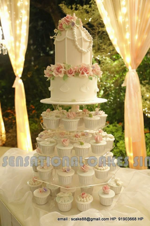 The Sensational Cakes: ROYAL VINTAGE CLASSIC WEDDING CAKE SINGAPORE ...