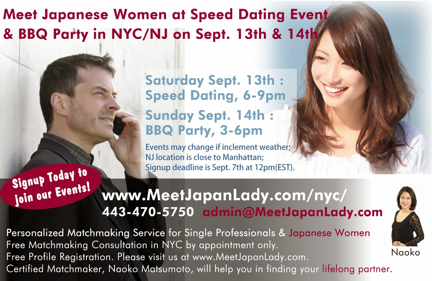 Speed dating girl blog