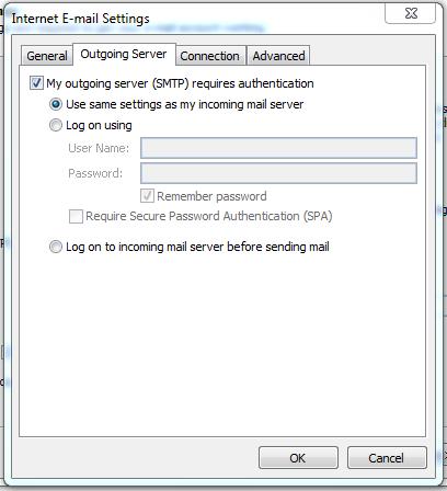 Hưỡng dẫn cài đặt Gmail trên Outlook 2010