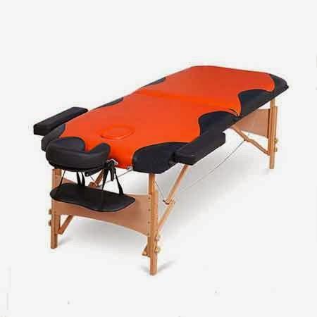 Masa masaj-2 sectiuni-lemn