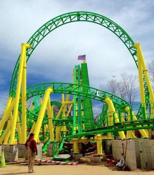 NewsPlusNotes: Adventureland\'s Turbulence Coaster Now Complete