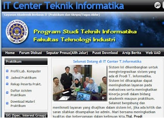 Contoh Interface Website yang baik | Redy Nurdiawan