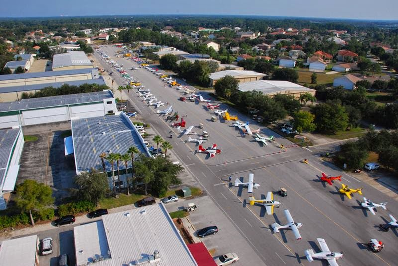 Spruce Creek is the world's largest fly-in community, which also are called airparks. Spruce Creek Airport is a private airport located in south of the central business district of Daytona Beach, in Volusia County, Florida, United States.