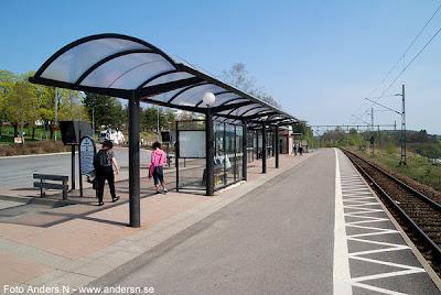 Mark, Marks kommun, station, stationen, Järnvägsstation, järnvägsstationen, resecentrum, busstation, bussterminal, busshållplats, Kinna, tåg, järnväg