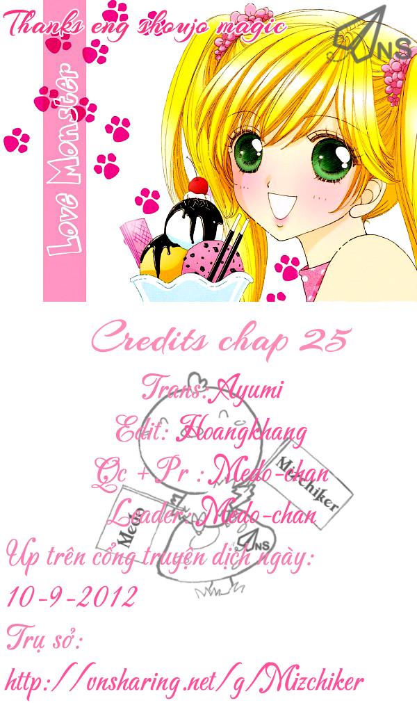 Love♥Monster chap 25 - Trang 27