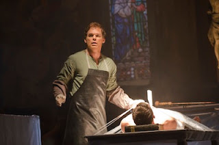 Dexter (Michael C Hall) in episode 1 of series 7