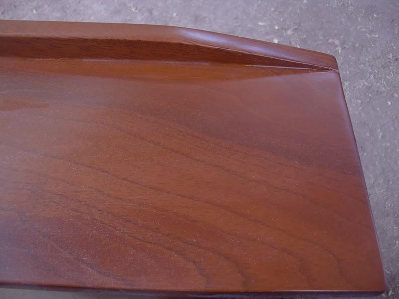 Decoraciones manualidades en madera matizando color caoba - Pintura para madera colores ...