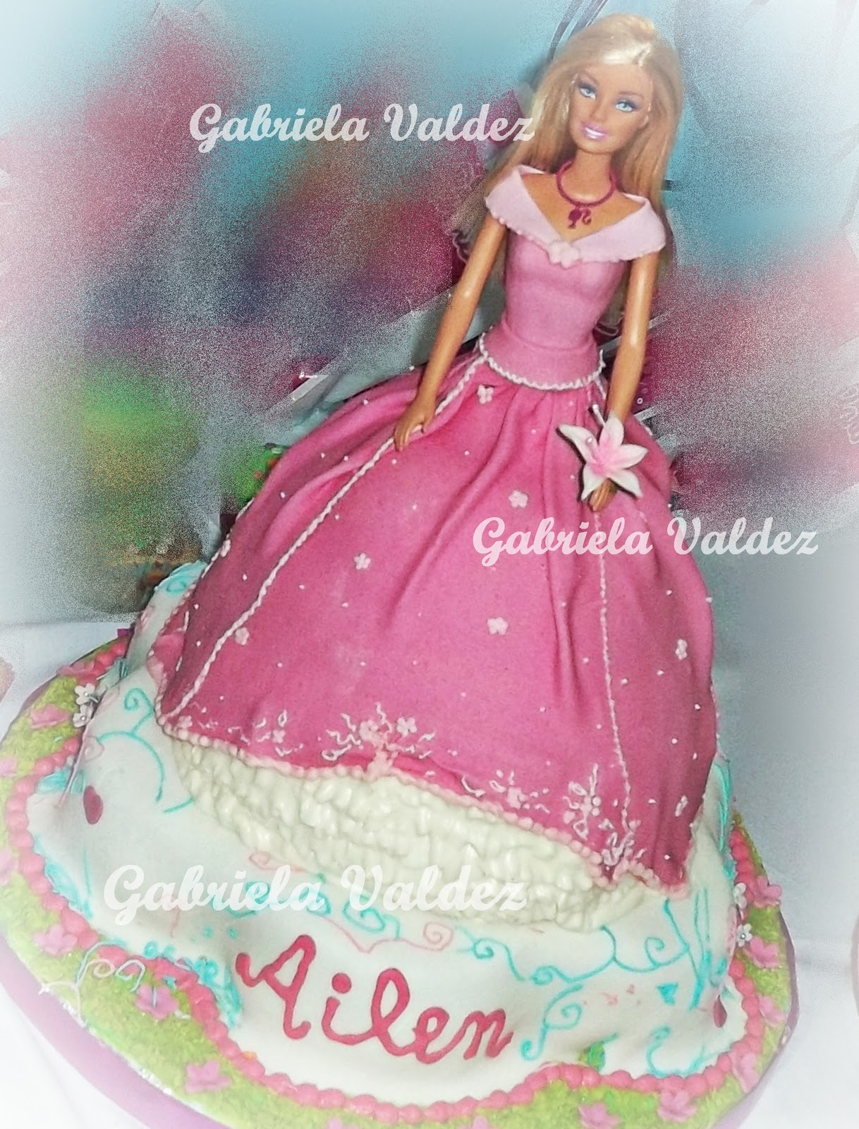 Torta Decoradas Princesa Barbie