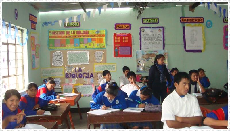 Micaela bastidas actividades por el xlii aniversario de for Decoracion aula primaria