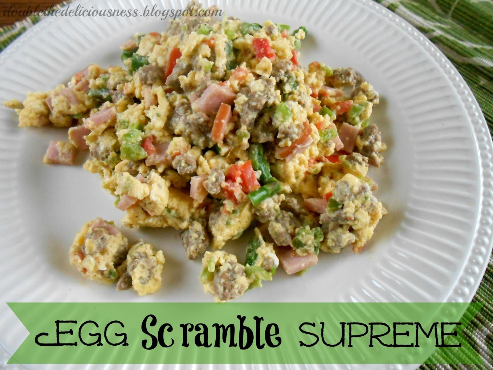 Egg Scramble With Ham And Peppers Recipes — Dishmaps