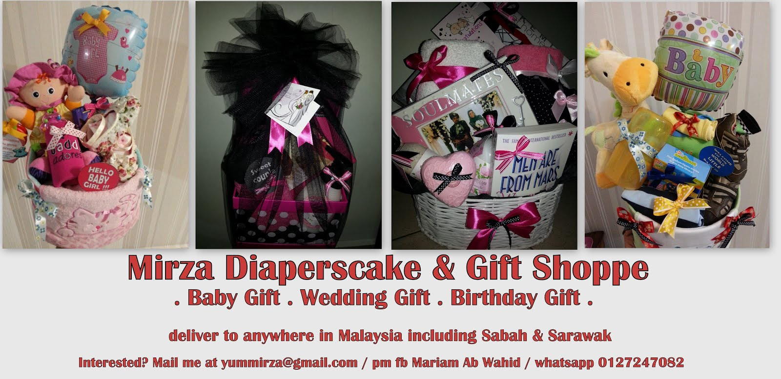 Mirza Diapers Cake & Gift