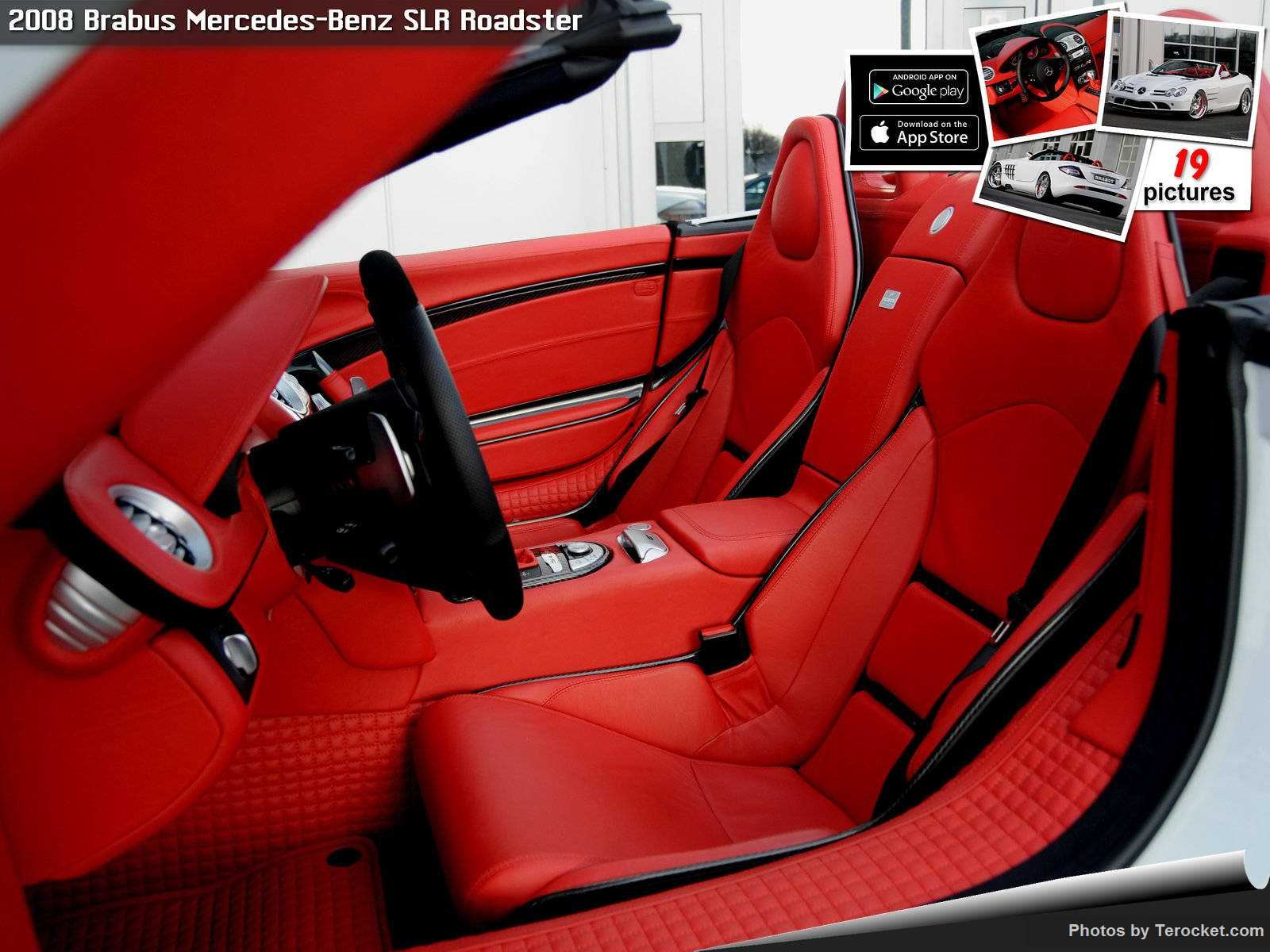 Hình ảnh xe ô tô Brabus Mercedes-Benz SLR Roadster 2008 & nội ngoại thất