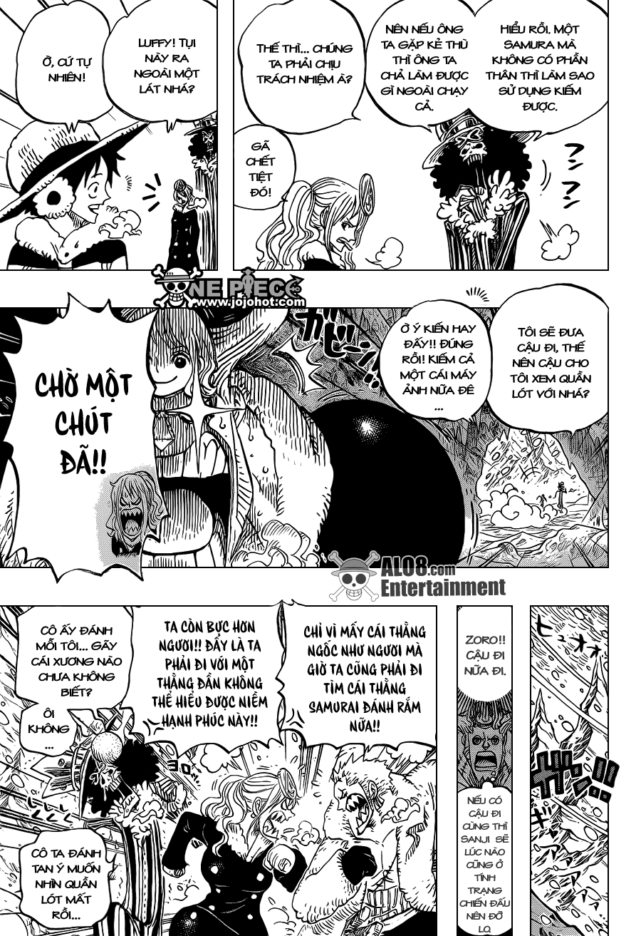 One Piece Chapter 665: Kẹo 003