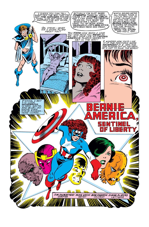 Captain America (1968) Issue #289 #205 - English 21