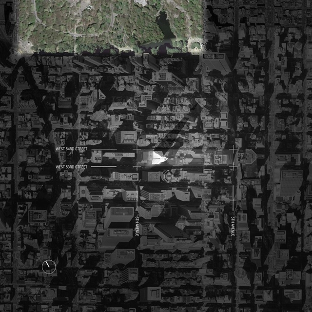 Picture of Tower Verre location on the map of Lower Manhattan