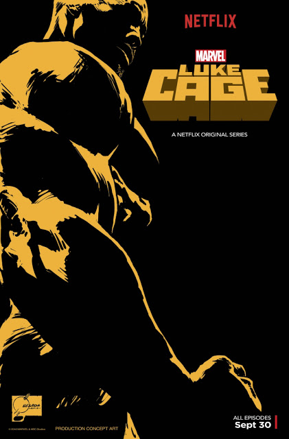 "Netflix's newest series ""Luke Cage"" features amazing 90's Hip Hop Music"